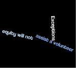 volunteer exceptions